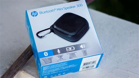 hp mini 300 bluetooth speaker unboxing