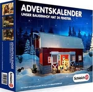 U De M Calendrier 2015 Schleich Adventskalender 2014 Tierische Weihnachten Im