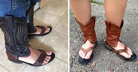 boot sandals cowboy boot sandals is the newest trend that keeps your