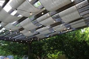 backyard tarp patio shades ideas 10 clever ways to take cover outdoors