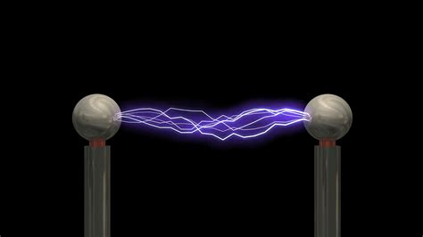 tesla coil concept animation tesla coil with matte motion