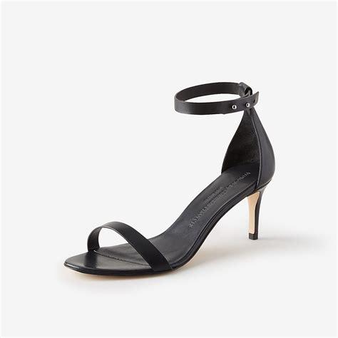 Black Sandals Heels black strappy low heels qu heel