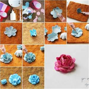 Paper Flower Steps - gallery for gt how to make handmade paper flowers step by step