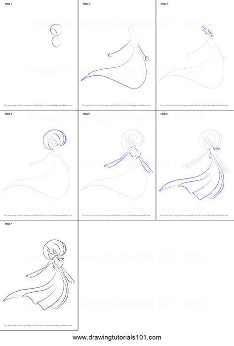 how to draw doodle step by step how to draw gardevoir from printable step by step