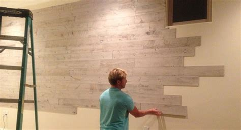 Interior Stone Walls Home Depot by Peel And Stick Wood Panels Provide An Instant Reclaimed