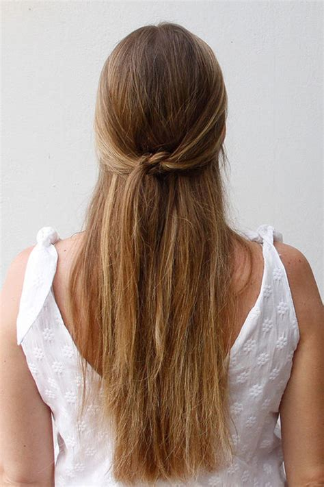 easy and quick down hairstyles easy half up half down hairstyles to rock for any