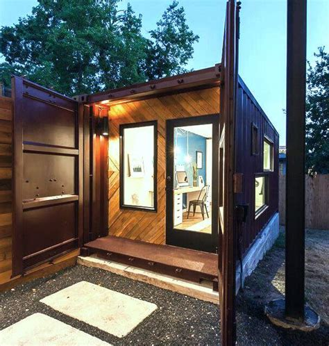 shipping container  sheds  man caves discover
