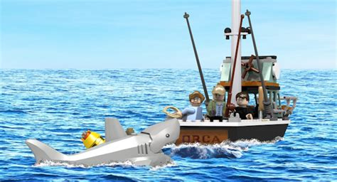 jaws bigger than boat you re gonna need a bigger boat awesome lego jaws
