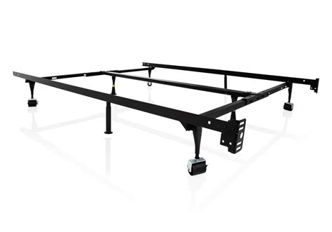 4 Way Universal Adjustable Metal Bed Frame With Wheels Bed Frame Wheels