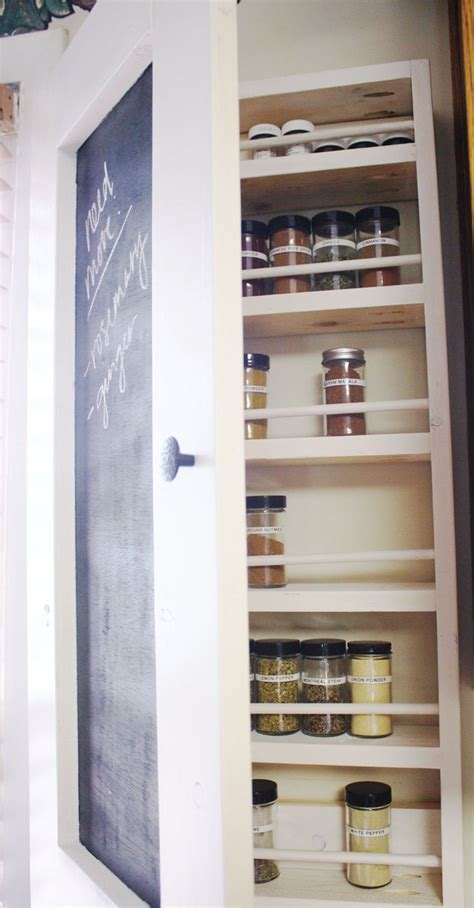 Spice Storage Cabinet Cabinet Spice Rack Plans Woodworking Projects Plans