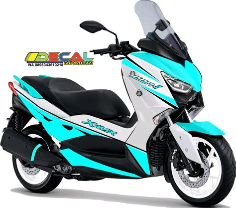 jual decal xmax  movistar yamaha xmax sticker decal