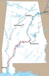 alabama and map alabama river coosa alabama river improvement assn