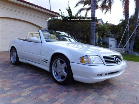 convertible mercedes 2000 2000 mercedes benz sl500 sl 500 convertible amg sport package