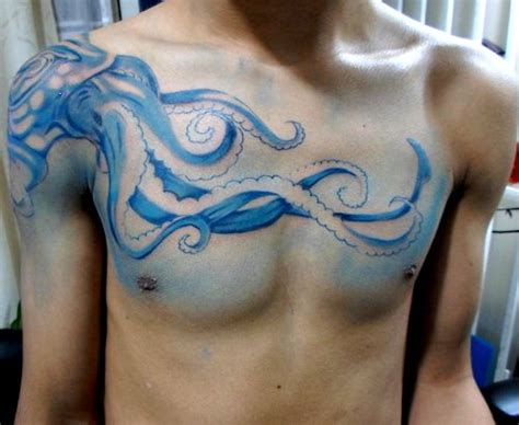 octopus tattoo on chest 54 best images about tattoos on pinterest divergent