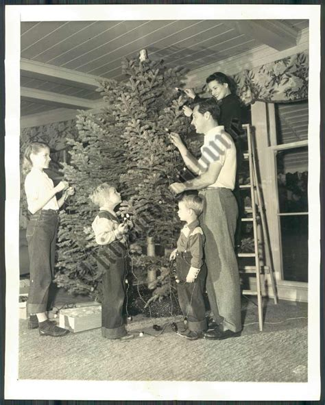 william holden and family christmas classics pin ups