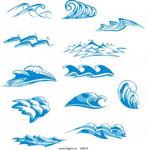 wave pattern logo sea waves clipart 32