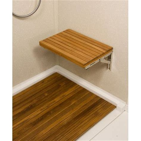 folding wall mounted bench teakworks4u teak wall mount fold down shower bench seat