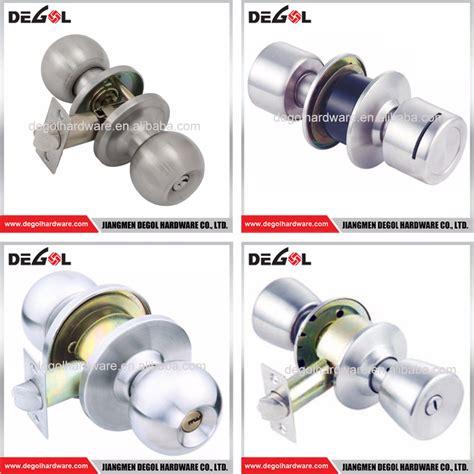 wholesale interior tubular door lock and handle knob door