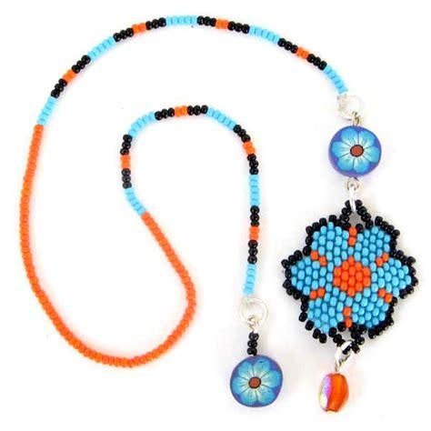 beadwork blue black blue beaded flower beadwork bookmark wholesale lot 6