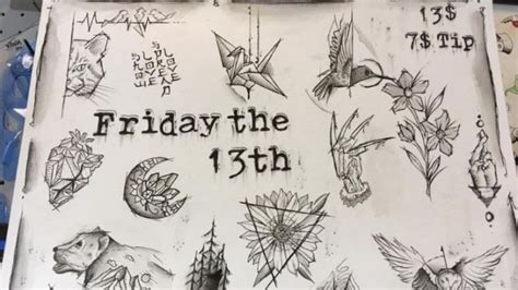 friday the 13th tattoos san diego 13 tattoos to celebrate this friday the 13th lindenlink
