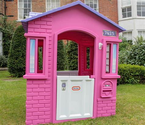 tikes cottage tikes playhouse pink bruin
