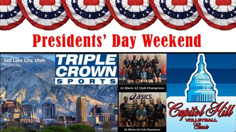 presidents weekend triangle sees success on presidents day weekend