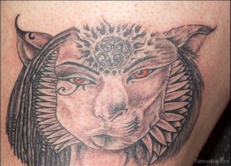 egyptian cat tattoo tattoos designs pictures page 16