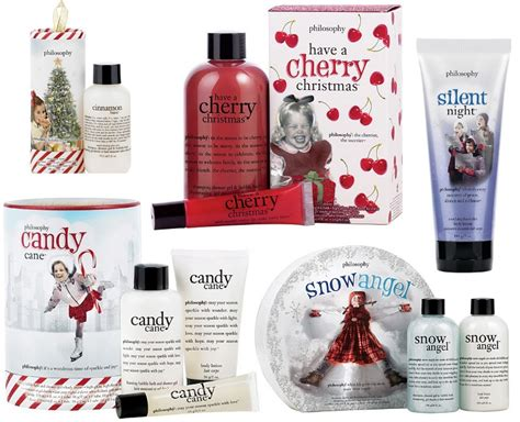 christmas gift guide lush  philosophy holiday  gift sets makeupall