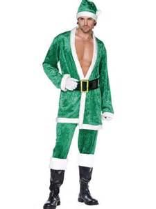 green santa suit costume smiffy s aus santa suit