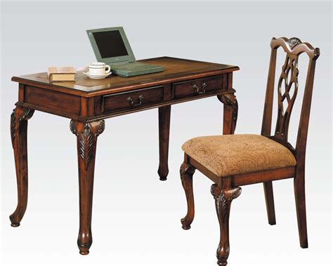 writing desk and chair acme furniture writing desk w chair ac09650