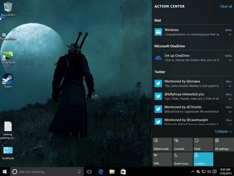 pc themes action windows 10 the 10 best new features you should try first