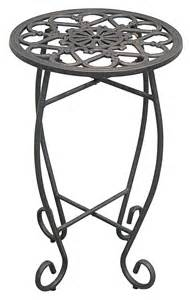 Round Pedestals Innova Hearth And Home Folding Plant Stand