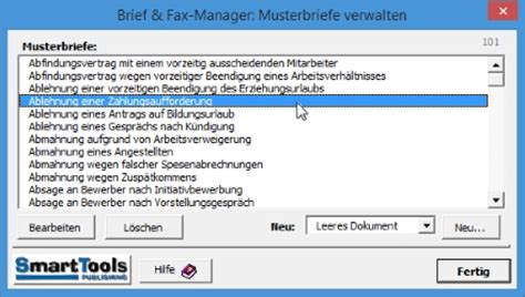 Musterbriefe In Word add in world smarttools brief und fax manager 2016