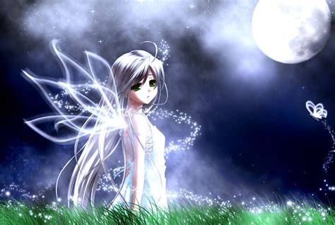 imagenes anime hadas fondo hada anime luna