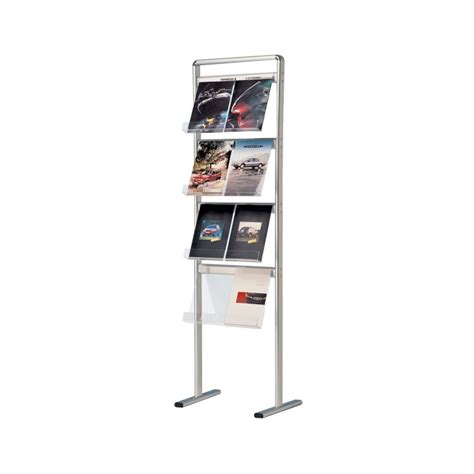 floor standing leaflet  brochure holder display