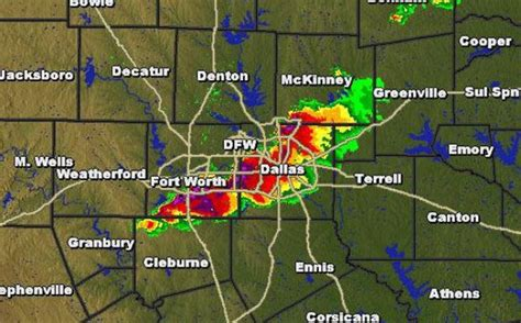 dallas texas weather map dallas weather update storms bring large hail to dallas fort worth bazics net