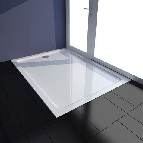 piatto doccia 110 x 80 articoli per piatto doccia rettangolare in abs bianco 80 x
