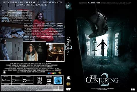 Dvd The Conjuring 2 the conjuring 2 dvd cover 2016 r2 german custom