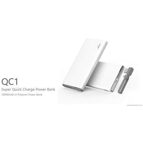 Hame Qc1 Power Bank 2 Port 10000mah Qualcomm Charge 2 0 Sale Pri hame qc1 power bank 2 port 10000mah qualcomm charge 2 0 white jakartanotebook