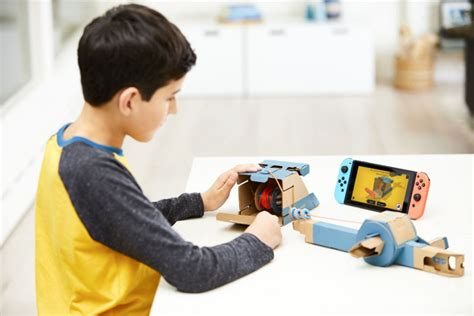 Nintendo Switch Gift Card Canada - nintendo unveils labo diy cardboard accessories for the switch console toronto star