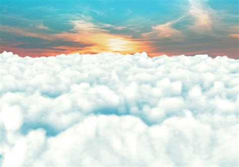 sky clouds sunset wall paper mural buy  europosters