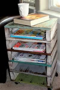11 clever diy magazine storage ideas diy magazine holder