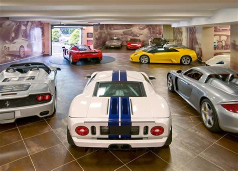 cool car garages world s most beautiful garages exotics insane garage