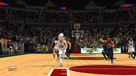 wallpaper gif jam nba 2k14 s new space jam mode is real and terrifying