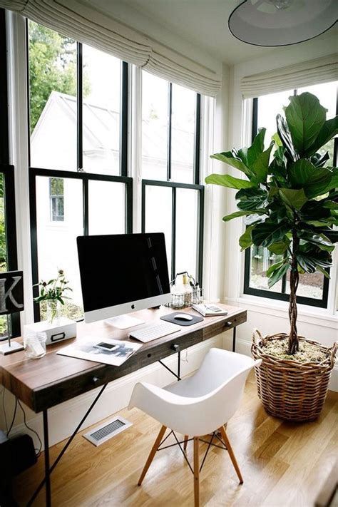 bloggers office decor glam white  mysterious dark