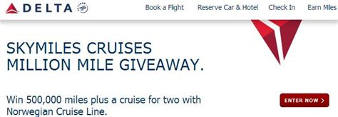 United Million Mile Giveaway - skymiles cruises archives michael w travels