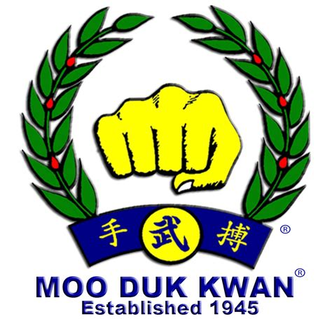 moo do file moo duk kwan fist logo created by hwang kee in 1955 png