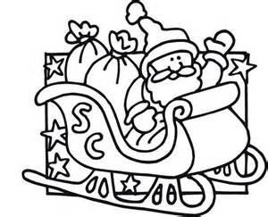 pictures of santa s sleigh cliparts co