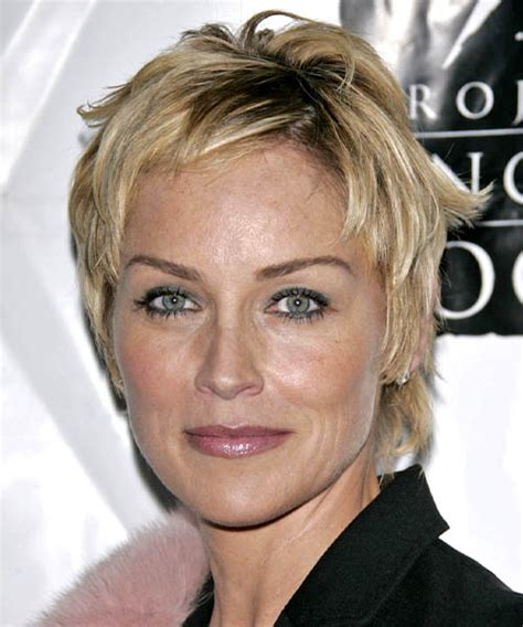 sharon stone hairstyles hair cuts  colors