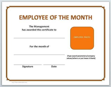 manager of the month certificate template award certificate docx printable microsoft bank account